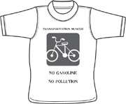 Transport1 T shirt - silk screen design
