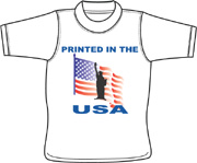 Print-USA2 T shirt - Fork, Maryland (MD)